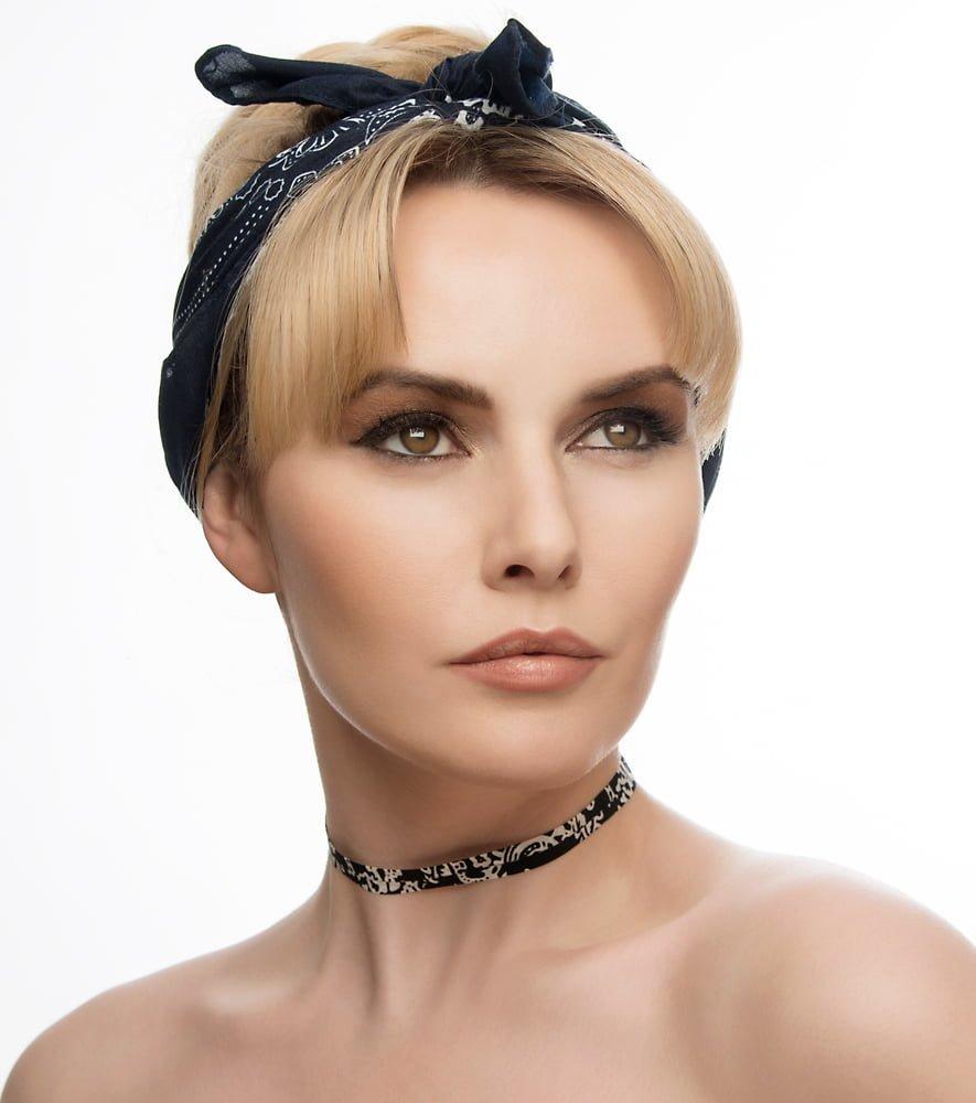 Beauty portrait of Carla Monaco by Adrian Crook