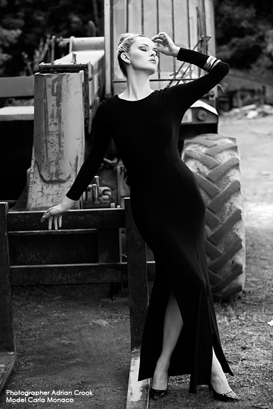 Scrapyard with Carla Monaco by Adrian Crook