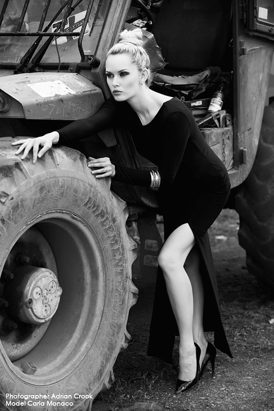 Scrapyard with Carla Monaco by Adrian Crook 2